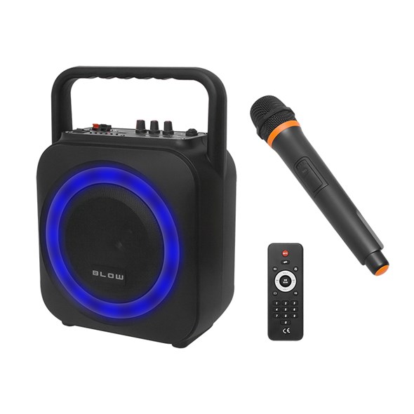 Prenosný reproduktor BLOW BT800 BLUETOOTH, USB, SD, FM, AUX-IN + mikrofón