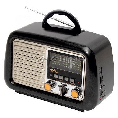 Retro prenosné rádio, MP3-BT RRT 2B