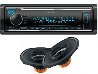 SET KENWOOD KMM-124+DCX 690